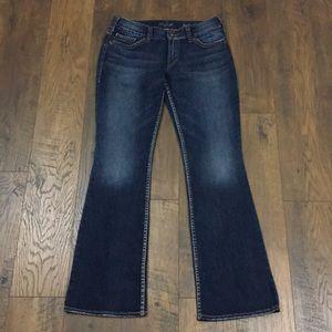 Silver Suki Surplus flap pocket jeans